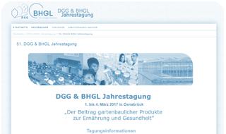 DGG & BHGL Jahrestagung