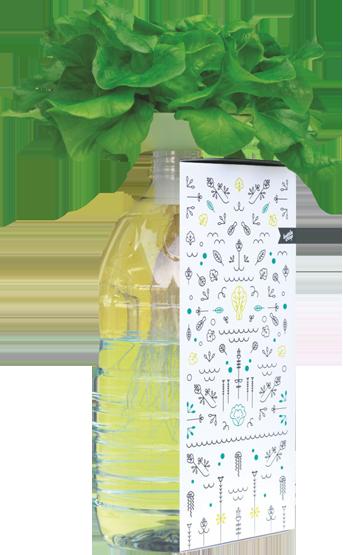 BottleCrop - Das kleinste hydroponische Urban Farming System der Welt