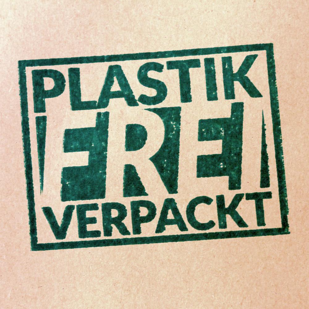 Der Versand über die von uns genutzten Handelsplattformen erfolgt plastikfrei